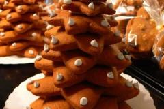 Lebkuchen-Weihnachtsbaum