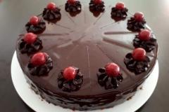 Lublab-Schoko-Sauerkirsch-Torte